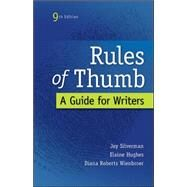 Rules of Thumb by Silverman, Jay; Hughes, Elaine; Wienbroer, Diana, 9780073405964