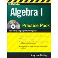 CliffsNotes Algebra I Practice Pack by Sterling, Mary Jane, 9780470495964