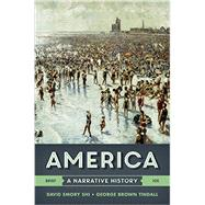 America: A Narrative History (Volume One) by Shi, David Emory; Tindall, George Brown, 9780393265965