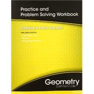 High School Math Common-Core Geometry Practice/Problem Solving Workbook by Pearson, 9780133185966