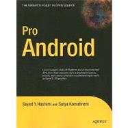 Pro Android by Hashimi, Sayed Y., 9781430215967