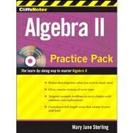 CliffsNotes Algebra II Practice Pack by Sterling, Mary Jane, 9780470495971