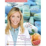 Chemistry for Today General Organic and Biochemistry, Hybrid Edition (with OWLv2 with MindTap Reader 24-Month Printed Access Card) by Seager, Spencer L.; Slabaugh, Michael R., 9781285185972