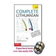Complete Lithuanian with Two Audio CDs: A Teach Yourself Guide by Ramoniene, Meilute; Stumbriene, Viginija, 9780071765978
