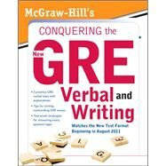 McGraw-Hill's Conquering the New GRE Verbal and Writing by Zahler, Kathy, 9780071495981