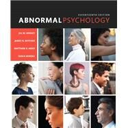 Abnormal Psychology Plus NEW MyLab Psychology  -- Access Card Package by Hooley, Jill M.; Butcher, James N.; Nock, Matthew K.; Mineka, Susan M, 9780134495996
