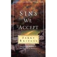 Sins We Accept by Bridges, Jerry, 9781612916002