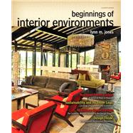 Beginnings of Interior Environments by Jones, Lynn M., ASID, IIDA, IDEC, 9780132786003