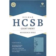 HCSB Giant Print Reference Bible, Teal LeatherTouch by Unknown, 9781433616006