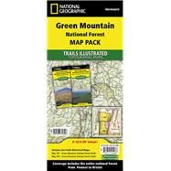 National Geographic Trails Illustrated Green Mountain National Forest Map Pack Vermont by National Geographic Society (U. S.), 9781597756006