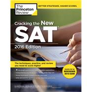 Cracking the New SAT with 4 Practice Tests, 2016 Edition by PRINCETON REVIEW, 9780804126007
