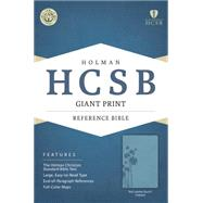 HCSB Giant Print Reference Bible, Teal LeatherTouch Indexed by Holman Bible Staff, 9781433616013