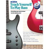 Alfred's Teach Yourself to Play Bass by Manus, Morty; Manus, Ron, 9781470626013