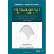 Response Surface Methodology by Myers, Raymond H.; Montgomery, Douglas C.; Anderson-cook, Christine M., 9781118916018