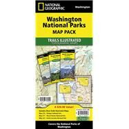 Washington National Parks: Map Pack Bundle by National Geographic Maps - Trails Illustrated, 9781597756020