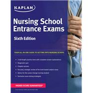 Nursing School Entrance Exams by Kaplan, 9781618656025