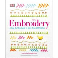 Embroidery by DK Publishing, 9781465436030