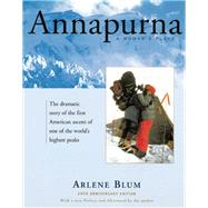 Annapurna A Woman's Place by Blum, Arlene, 9781619026032