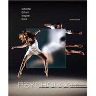 Psychology by Schacter, Daniel L.; Gilbert, Daniel T.; Wegner, Daniel M.; Nock, Matthew K., 9781464106033