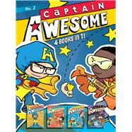 Captain Awesome 4 Books in 1! No. 2 Captain Awesome to the Rescue, Captain Awesome vs. Nacho Cheese Man, Captain Awesome and the New Kid, Captain Awesome vs. the Spooky, Scary House by Kirby, Stan; O'Connor, George, 9781481476034
