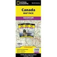 Canada Map Pack: Canada West/ Canada Central/ Canada East by National Geographic Maps - Adventure, 9781597756037