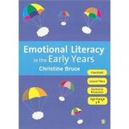 Emotional Literacy in the Early Years by Christine Bruce, 9781849206037