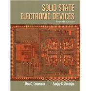 Solid State Electronic Devices by Streetman, Ben; Banerjee, Sanjay, 9780133356038