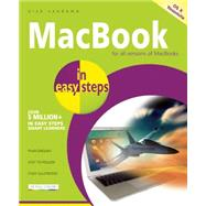 MacBook in Easy Steps Covers OS X Yosemite (10.10) by Vandome, Nick, 9781840786040