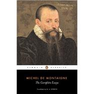 The Complete Essays by Montaigne, Michel de, 9780140446043