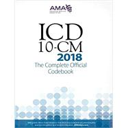 ICD-10-CM 2018 by American Medical Association, 9781622026043