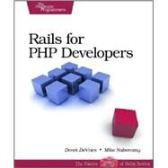Rails for PHP Developers by DeVries, Derek, 9781934356043