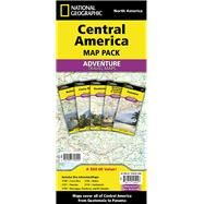 Central America Map Pack: North America: Costa Roca-Panama-Belize-Guatemala-Nicaragua, Honduras, and El Salvador by National Geographic Maps - Adventure, 9781597756044