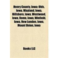 Henry County, Iowa by , 9781156026045