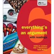 Everything's an Argument with Readings by Lunsford, Andrea A.; Ruszkiewicz, John J.; Walters, Keith, 9781457606045