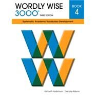 Wordly Wise 3000 3rd Edition Student Book 4 (Item# 7604) by Sandra Adams; Kenneth Hodkinson, 9780838876046