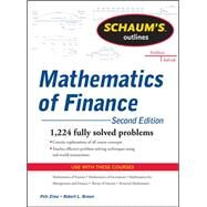 Schaum's Outline of  Mathematics of Finance, Second Edition by Brown, Robert; Zima, Petr, 9780071756051