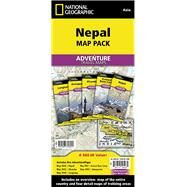 National Geographic Adventure Travel Maps Nepal Map Pack by National Geographic Maps, 9781597756051