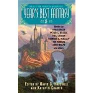 Year's Best Fantasy 5 by Hartwell, David G.; Cramer, Kathryn, 9780060776053