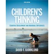 Children's Thinking by Bjorklund, David F., 9781111346058