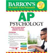 Barron's Ap Psychology by McEntarffer, Robert, Ph.D.; Weseley, Allyson J., 9781438076058