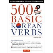 500 Basic Korean Verbs by Park, Kyubyong, 9780804846059