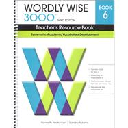 Wordly Wise 3000 Student Book 6 by Hodkinson & Adams, 9780838876060