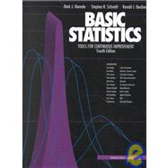Basic Statistics : Tools for Continuous Improvement by Kiemele, Mark J., 9781880156063