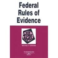 Federal Rules of Evidence in a Nutshell by Graham, Michael H., 9780314176066