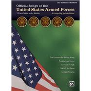 Official Songs of the United States Armed Forces: 5 Piano Solos and a Medley, Early Intermediate / Intermediate Piano by Bober, Melody (COP), 9781470626068