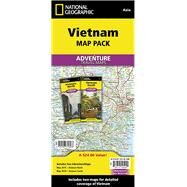 National Geographic Adventure Map Vietnam by National Geographic Maps, 9781597756068