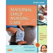 Maternal Child Nursing Care Study Guide by Piotrowski, Karen A.; Wilson, David, 9780323096072