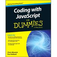 Coding With Javascript for Dummies by Minnick, Chris; Holland, Eva Rose, 9781119056072