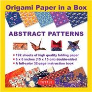 Origami Paper in a Box - Abstract Patterns by Tuttle Publishing, 9780804846073