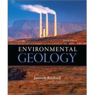 Environmental Geology by Reichard, James, 9780078096075